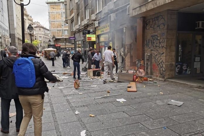Beograd Plinska Boca Explozija