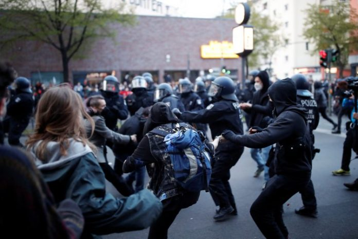 Berlin Protesti