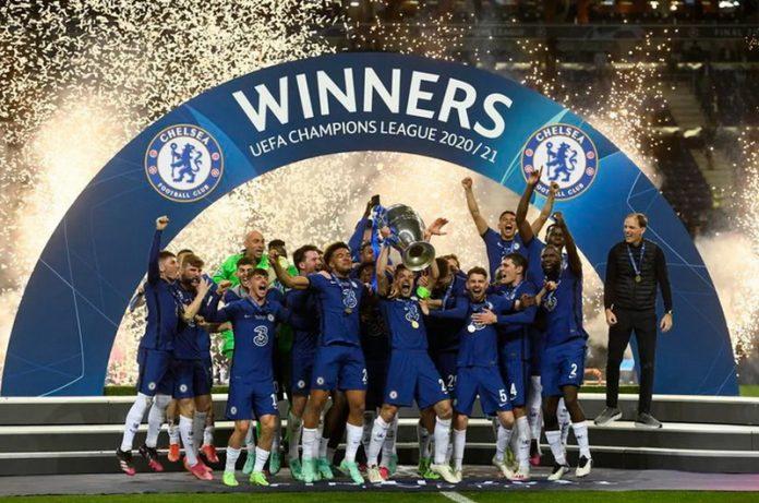 Chelsea Prvak Evrope Slavlje