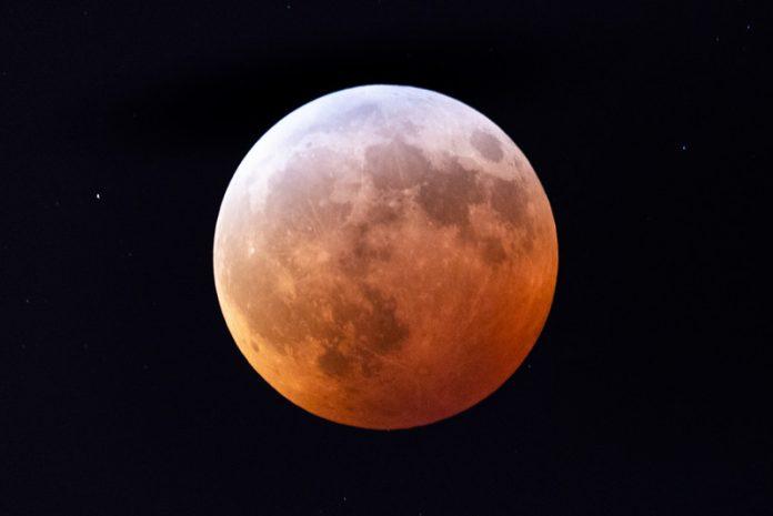 Super Blood Wolf Moon Lunar Eclipse In Washington, DC