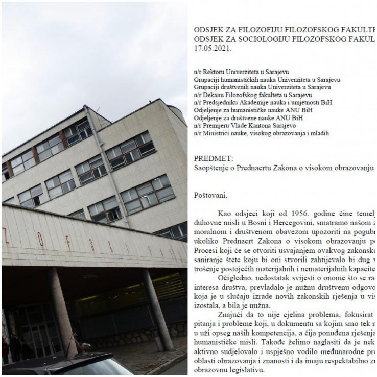 Filozofski Fakultet Sarajevo Tekst