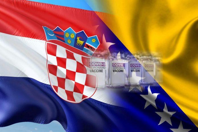 Hrvatska BiH Astra Zeneca