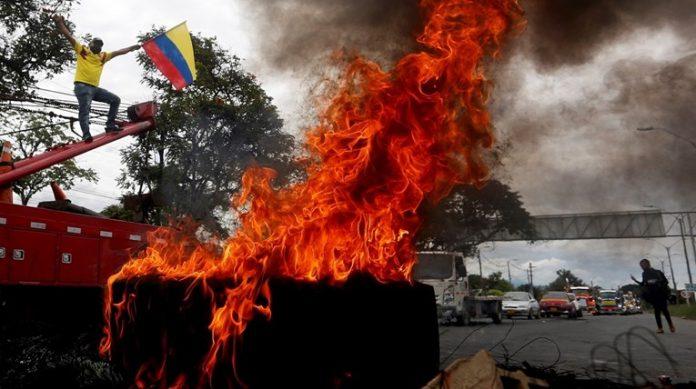 Kolumbija Protesti