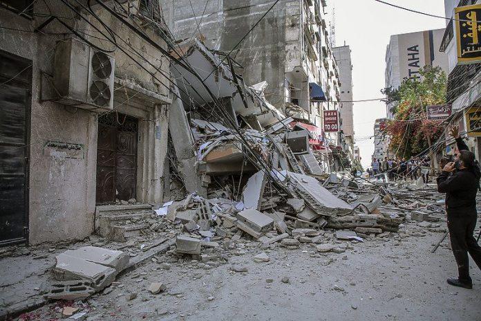 Rat Izrael Palestina