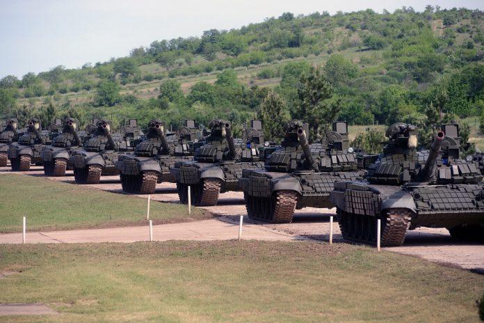 Tenkovi Rusija Srbija