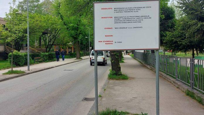 Uskoro počinje rekonstrukcija Travničke ceste u Zenici