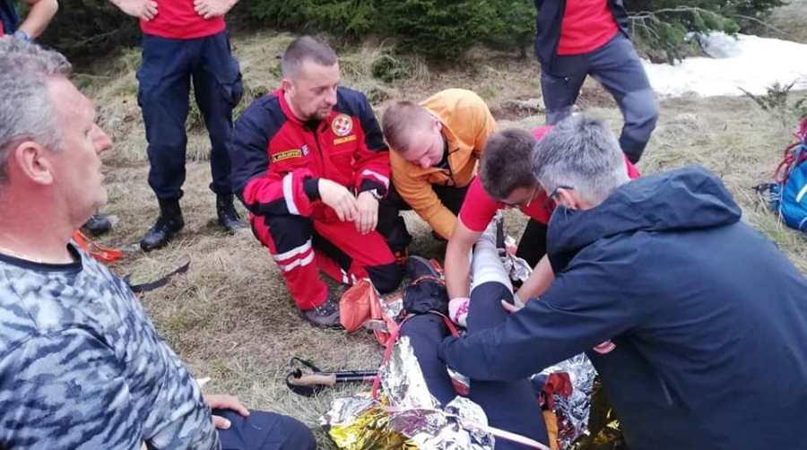 Članica Vedra se povrijedila na Čvrsnici, pomogli joj članovi GSS Zenica i Jablanica