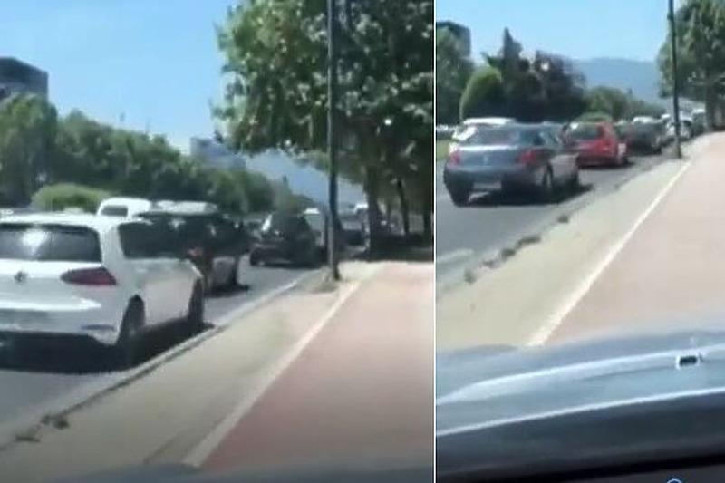 Vozač Sarajevo Trotoar