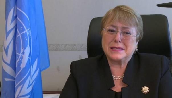 Izraelski Zracni Udari Po Gazi Mogli Bi Predstavljati Ratni Zlocin Bachelet Foto Youtube 60af6c192ddb0