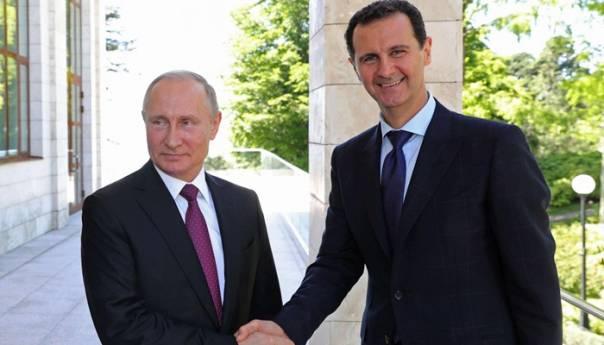 Putin Cestitao Asadu Pobjedu Na Izborima Putin Asad 60b0c98648aed