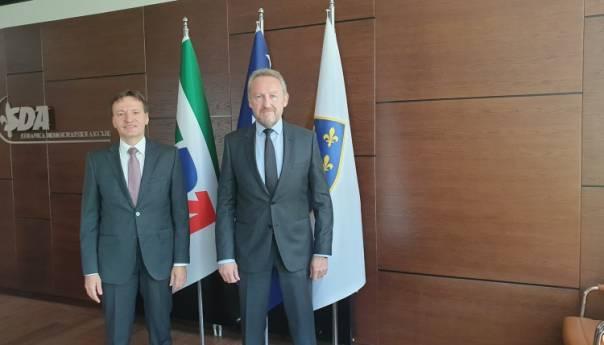 Sastanak Rumunija i BiH