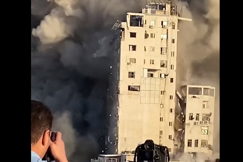 Rušenje Tornja Gaza