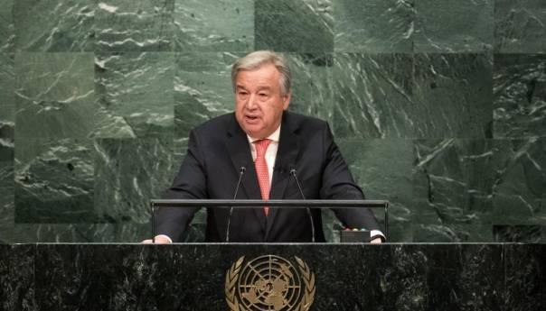 Un Pozvao Izrael I Palestinu Na Povratak Pregovorima Antonio Guterres Xinhua 60a14e0286718