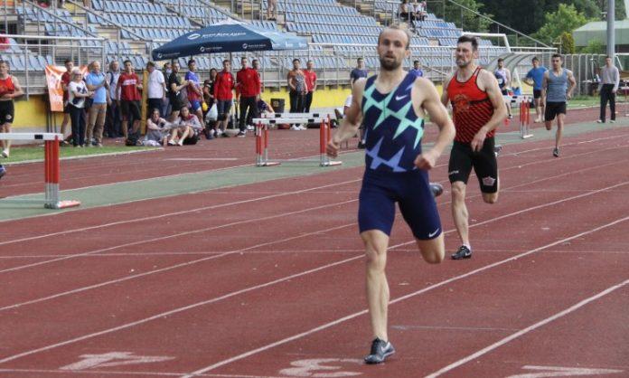 Amel Tuka na Državnom atletskom prvenstvu u Zenici