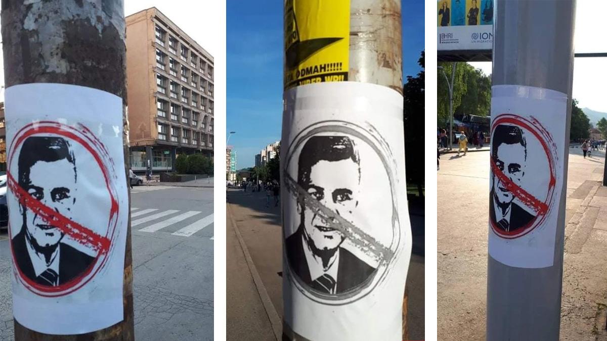Navijači Čelika na ulicama Zenice pokazali šta misle o Fuadu Kasumoviću