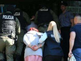 Hapšenje Akcija MREZA