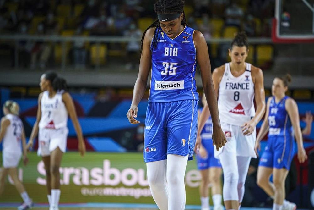 Košarkašice BiH poražene od Francuske i ostale bez borbe za medalju