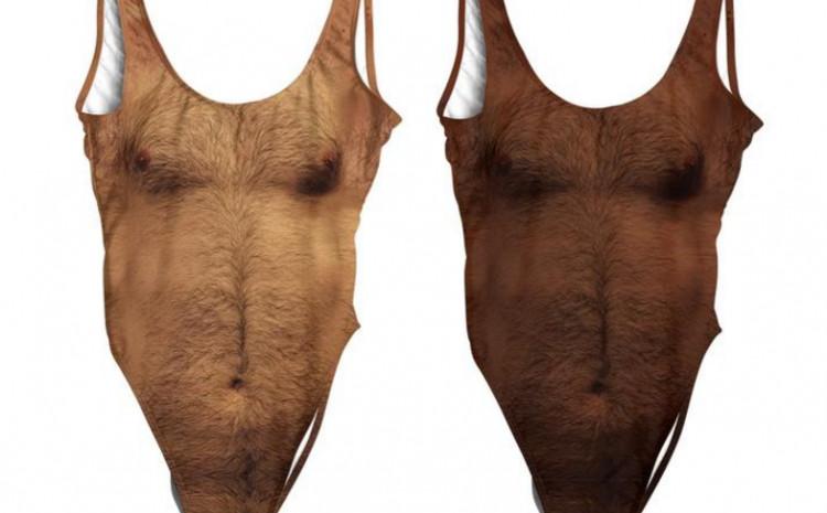 Ženski kupaći kostimi s muškim dlakama su novi trend