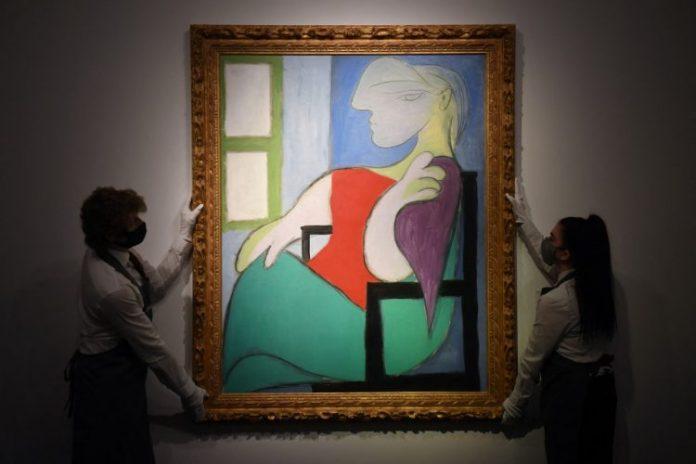 Picassova Slika Ženska glava