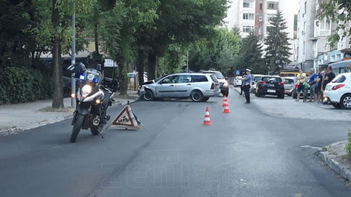Saobraćajna nesreća u Travničkoj ulici u Zenici
