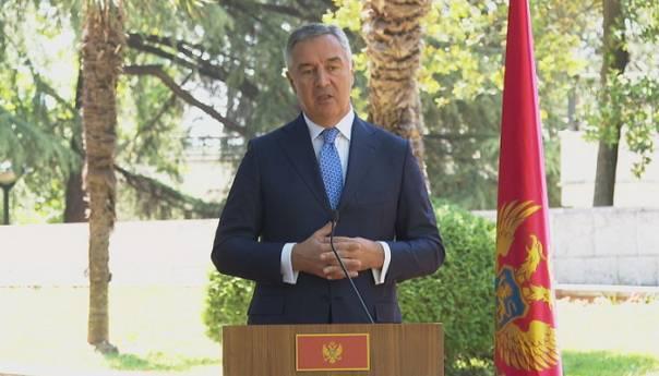 Đukanović: Plašim se da je Srbija na putu da ponovi greške iz 90-ih