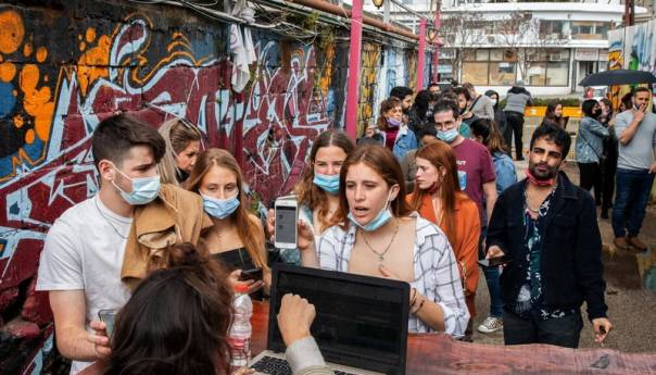 Izrael Ponovno Uvodi Maske U Zatvorenom Izrael 60d5a884a07a8