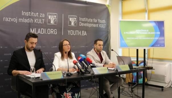 Više od 50% mladih želi napustiti državu