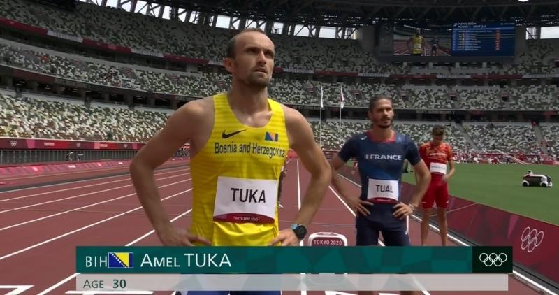 Amel Tuka izborio polufinale Olimpijade u Japanu