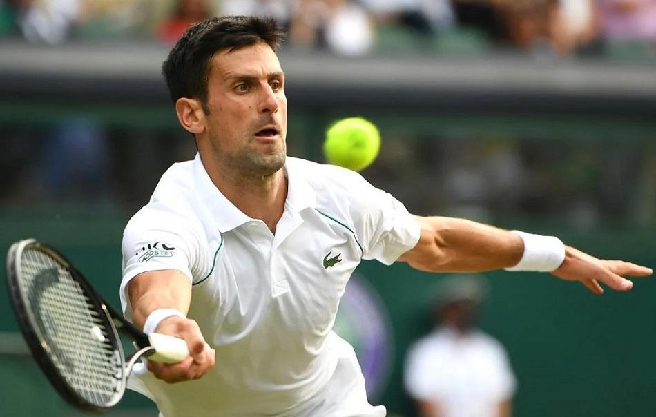 Novak Đoković u finalu Wimbledona