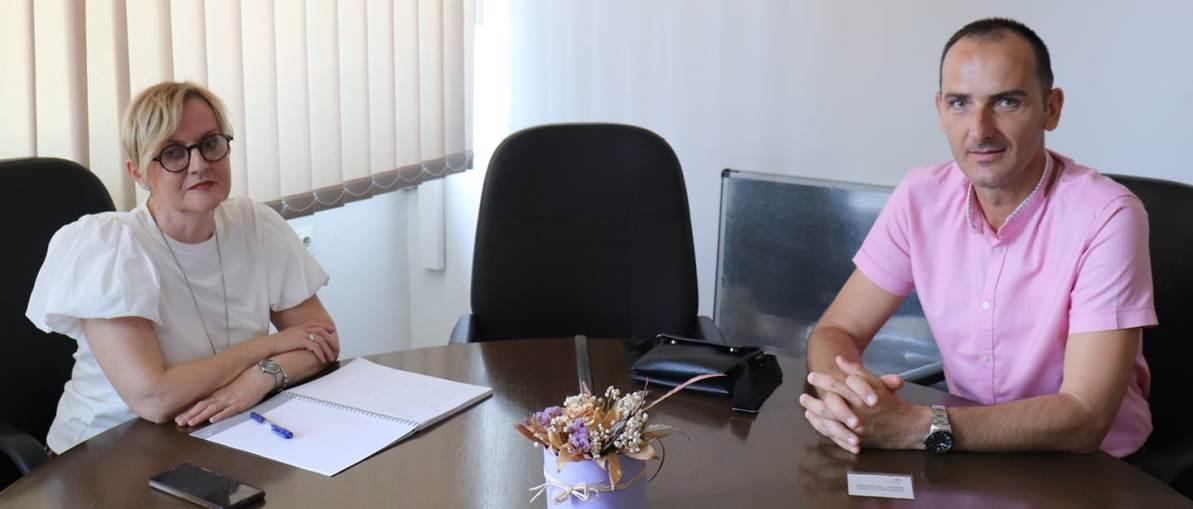 Dekan Metalurško – tehnološkog fakulteta u posjeti ArcelorMittal Zenica