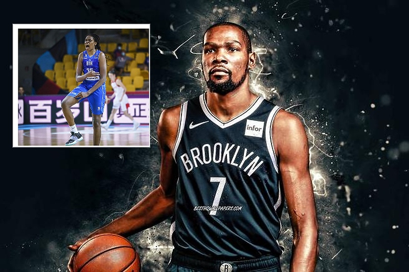 Durant o čudesnoj bh. košarkašici: Veliki sam fan Jonquel Jones, podsjeća me na mene