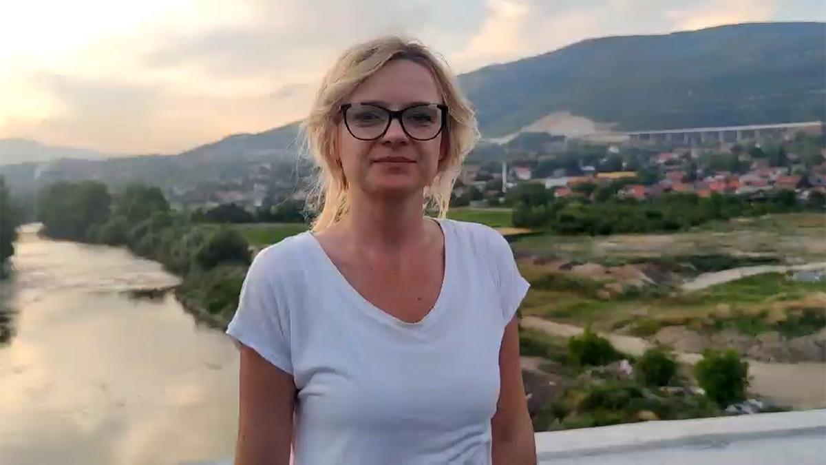 """Emina Tufekčić kod poslovne zone """"Zenica jug"""""""