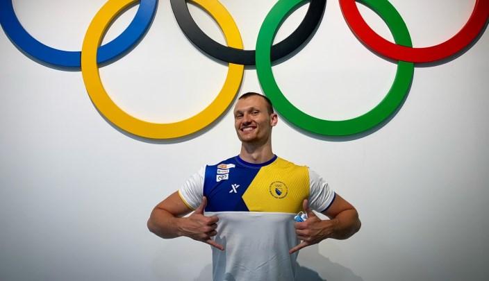 Emir Muratović zauzeo 42. mjesto na 50 metara slobodnim stilom