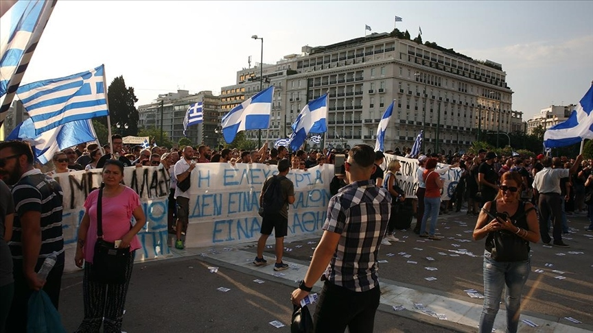 U Grčkoj se sukobili policija i protivnici vakcinacije protiv COVID-19