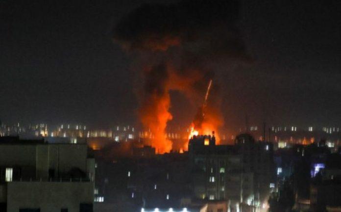 Izrael Palestina Bombardovanje