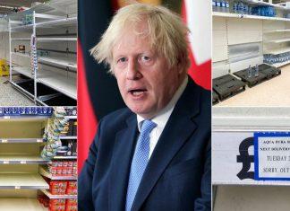 Johnson Engleska Nestašica Trgovine