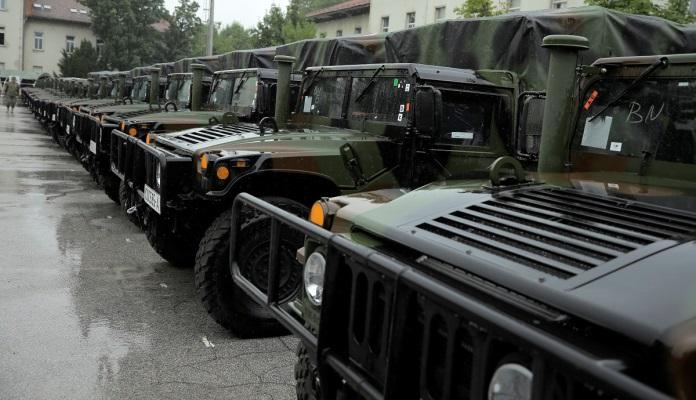 SAD donirale višenamjenska motorna vozila Oružanim snagama BiH