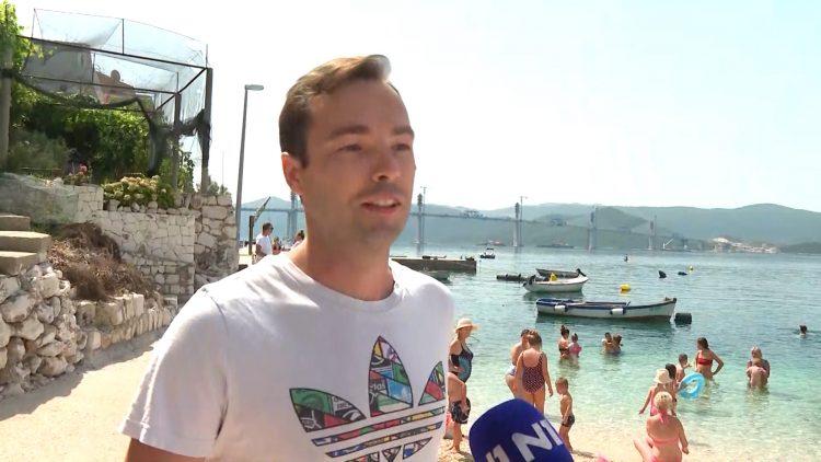"""""""Punica mi je rekla da će se ako se napravi Pelješki most, baciti s njega"""" (VIDEO)"""