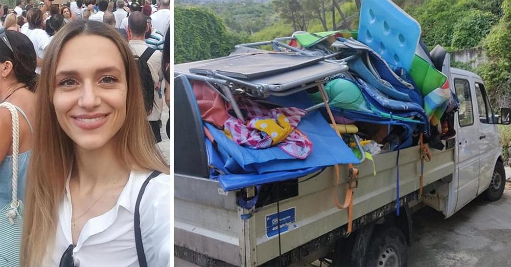 Mlada načelnica u Hrvatskoj s plaže uklonila peškire kojima su ljudi čuvali mjesto na plaži