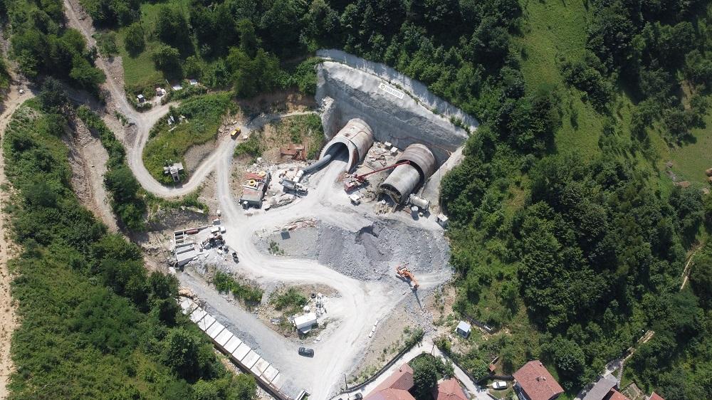 Pogledajte kako izgledaju radovi na izgradnji tunela Zenica (FOTO)