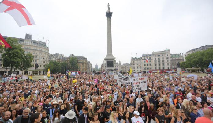 Proteklog vikenda održani protesti protiv obavezne vakcinacije i epidemioloških mjera