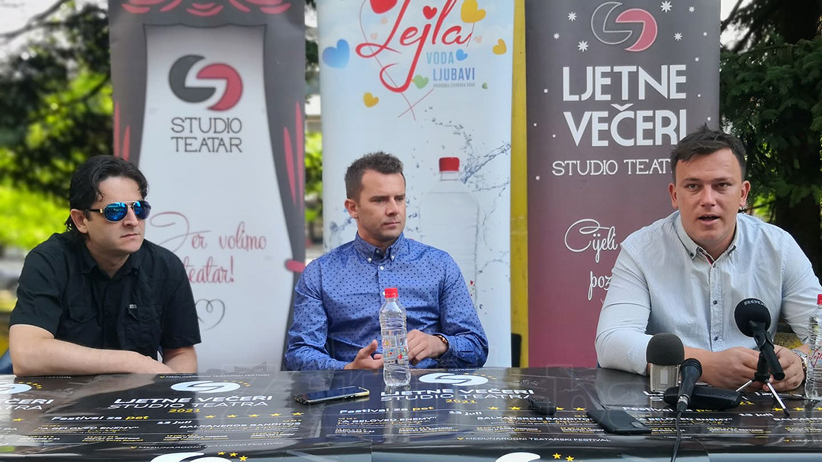Predstavljen program i aktivnosti V međunarodnog teatarskog festivala Ljetne večeri Studio Teatra (VIDEO)