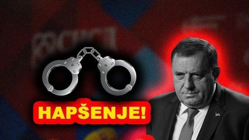 Pokrenuta online peticija za hapšenje Milorada Dodika