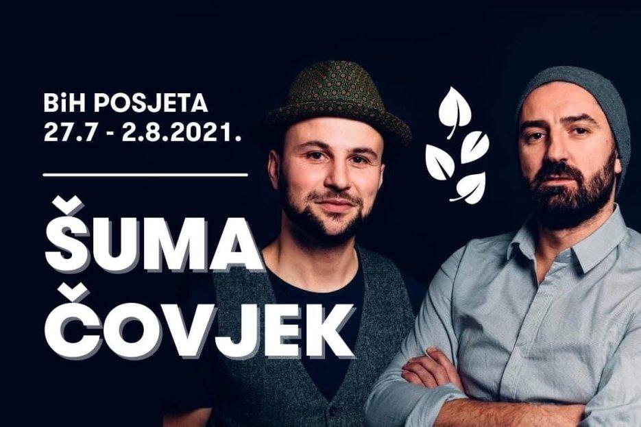"""Švicarski bend """"Šuma čovjek""""  u BiH snima četiri video spota"""