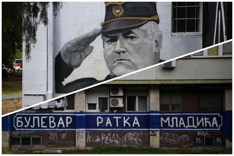 U Beogradu sve više murala podrške zločincu Mladiću