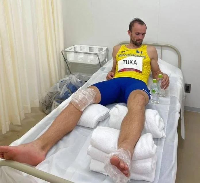 Amel Tuka Povreda