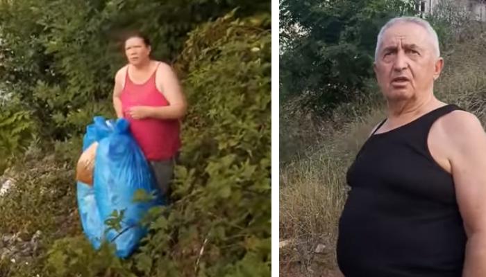 Ogorčeni mještanin u Jelahu natjerao dijasporce da pokupe smeće koje su bacili u Usoru (VIDEO)