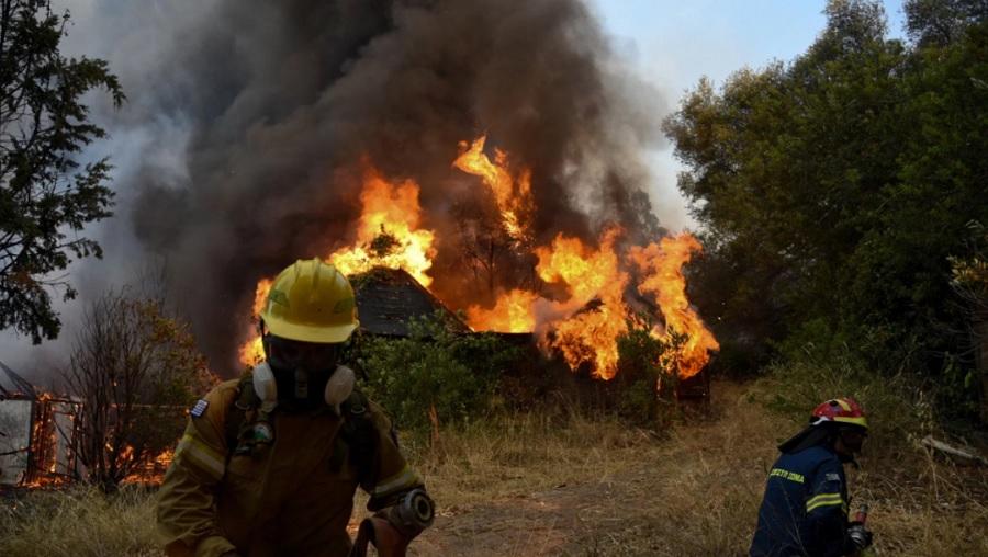 Šumski požari bjesne u okolini Atine
