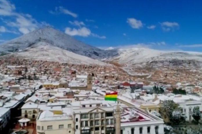 Snijeg Bolivia