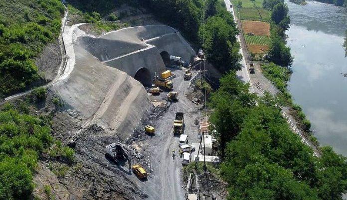 U toku probijanje novog tunela kod Nemile, prave se i dva mosta